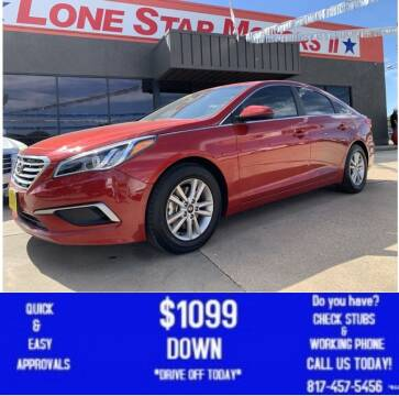 2017 Hyundai Sonata for sale at LONE STAR MOTORS II in Fort Worth TX