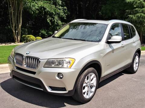2011 BMW X3 for sale at Weaver Motorsports Inc in Cary NC