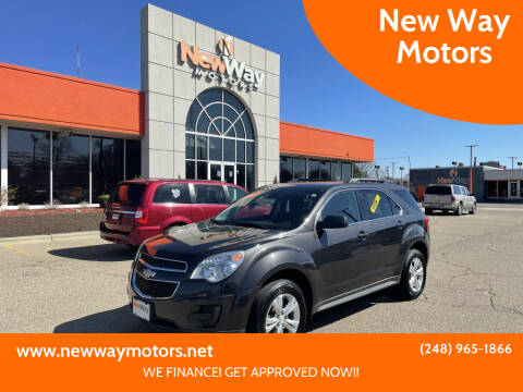 2014 Chevrolet Equinox for sale at New Way Motors in Ferndale MI