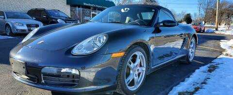 2006 Porsche Boxster for sale at Manfreds Import Auto in Cary IL
