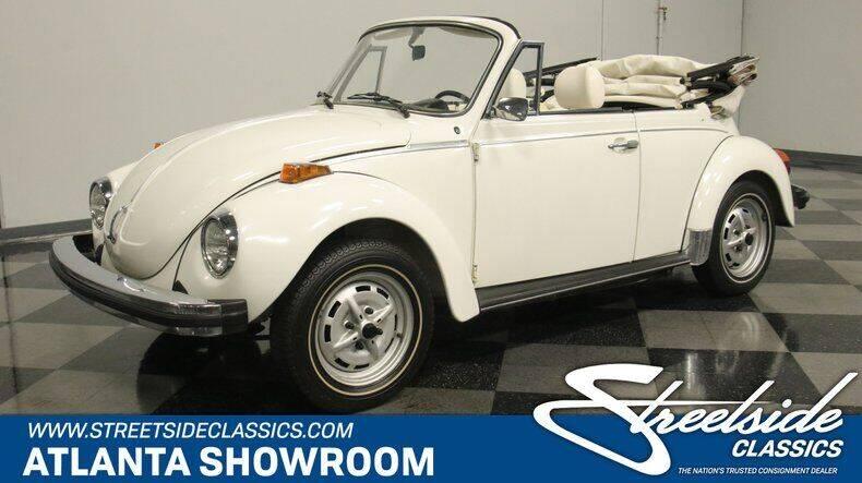 1979 Volkswagen Super Beetle for sale in Lithia Springs, GA