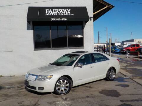 2006 Lincoln Zephyr for sale at FAIRWAY AUTO SALES, INC. in Melrose Park IL