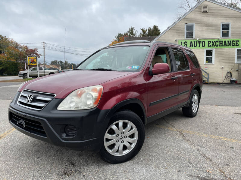 2006 Honda CR-V for sale at J's Auto Exchange in Derry NH