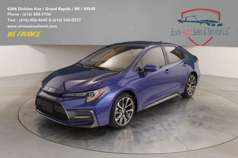 2020 Toyota Corolla for sale at Elvis Auto Sales LLC in Grand Rapids MI