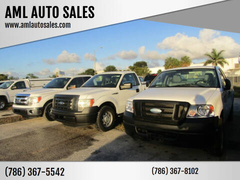2006 Ford F-150 for sale at AML AUTO SALES - Pick-up Trucks in Opa-Locka FL