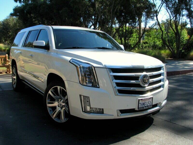 2015 Cadillac Escalade ESV for sale at Used Cars Los Angeles in Los Angeles CA