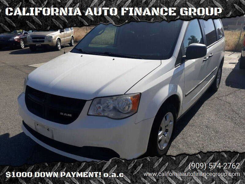 2013 RAM C/V for sale at CALIFORNIA AUTO FINANCE GROUP in Fontana CA