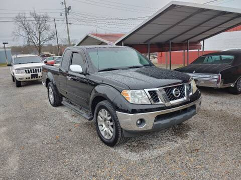2009 Nissan Frontier for sale at VAUGHN'S USED CARS in Guin AL