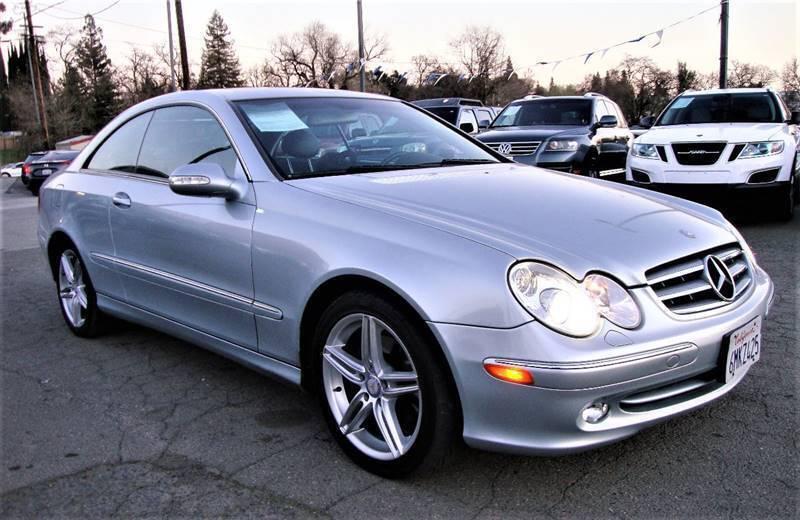 2005 Mercedes-Benz CLK for sale at DriveTime Plaza in Roseville CA