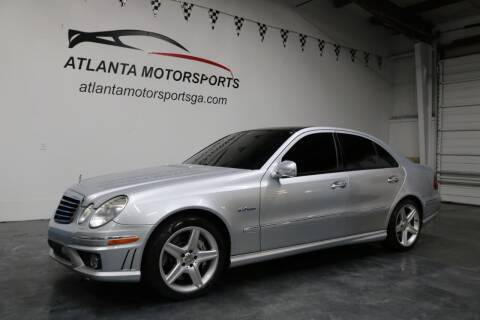 2007 Mercedes-Benz E-Class for sale at Atlanta Motorsports in Roswell GA