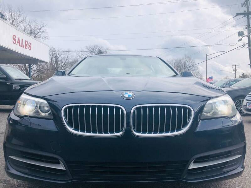 2014 BMW 5 Series for sale at Trimax Auto Group in Norfolk VA