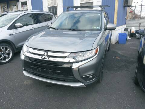 2016 Mitsubishi Outlander for sale at LaBate Auto Sales Inc in Philadelphia PA