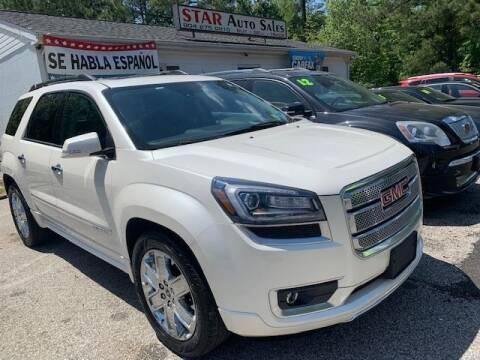 2015 GMC Acadia for sale at Star Auto Sales in Richmond VA