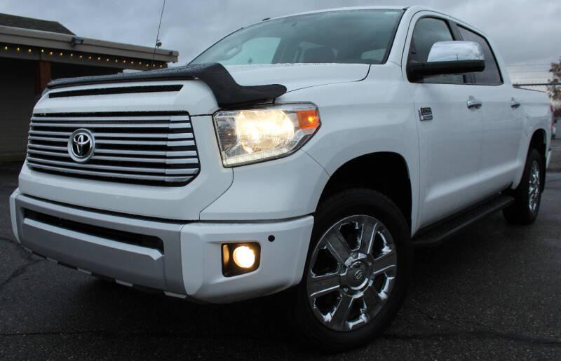 2015 Toyota Tundra for sale at J.K. Thomas Motor Cars in Spokane Valley WA