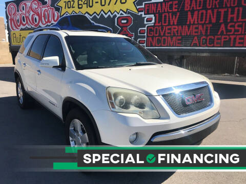 2007 GMC Acadia for sale at Rock Star Auto Sales in Las Vegas NV