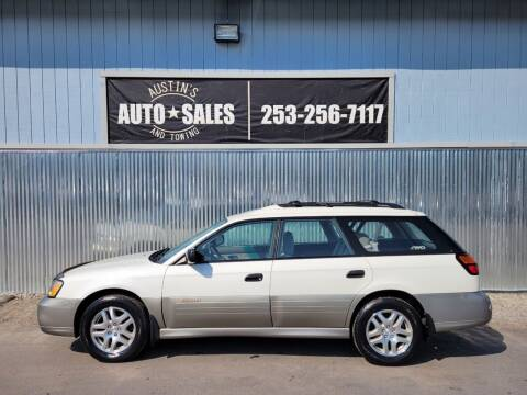 2002 Subaru Outback for sale at Austin's Auto Sales in Edgewood WA