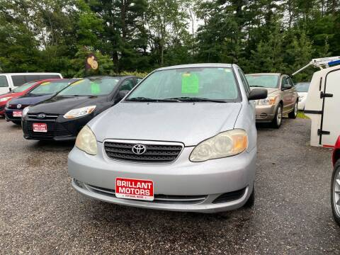 2007 Toyota Corolla for sale at Brilliant Motors in Topsham ME