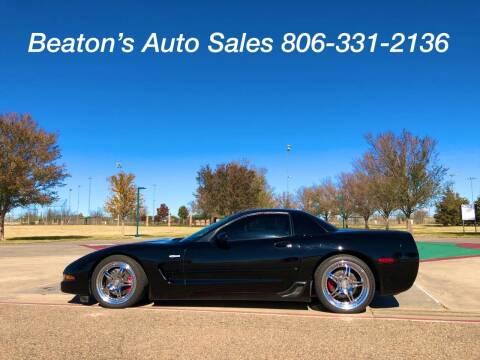 2003 Chevrolet Corvette for sale at Beaton's Auto Sales in Amarillo TX