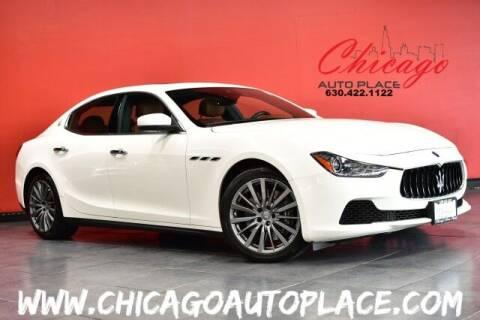 2017 Maserati Ghibli for sale at Chicago Auto Place in Bensenville IL