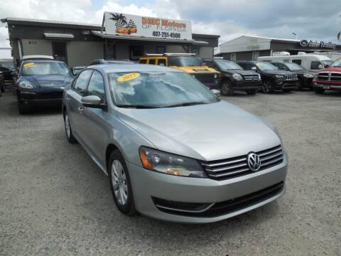 2013 Volkswagen Passat for sale at DMC Motors of Florida in Orlando FL