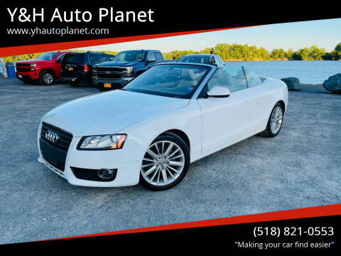 2012 Audi A5 for sale at Y&H Auto Planet in West Sand Lake NY