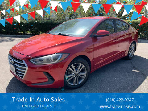 2017 Hyundai Elantra for sale at Trade In Auto Sales in Van Nuys CA