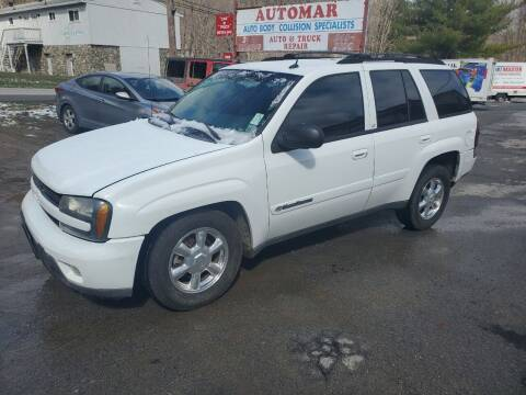 2004 Chevrolet TrailBlazer for sale at AUTOMAR in Cold Spring NY