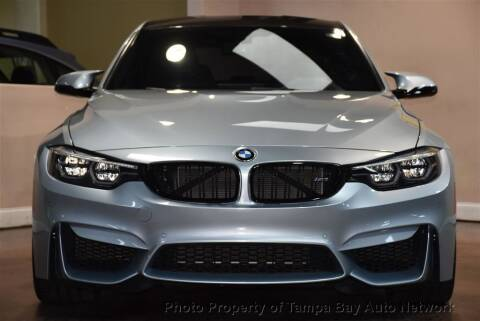 2018 BMW M3 for sale at Tampa Bay AutoNetwork in Tampa FL