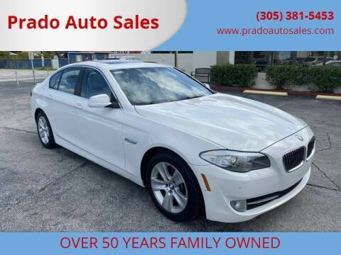 2013 BMW 5 Series for sale at Prado Auto Sales in Miami FL