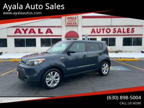 2014 Kia Soul for sale at Ayala Auto Sales in Aurora IL