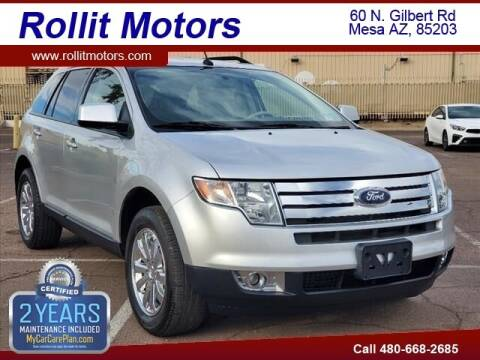 2010 Ford Edge for sale at Rollit Motors in Mesa AZ