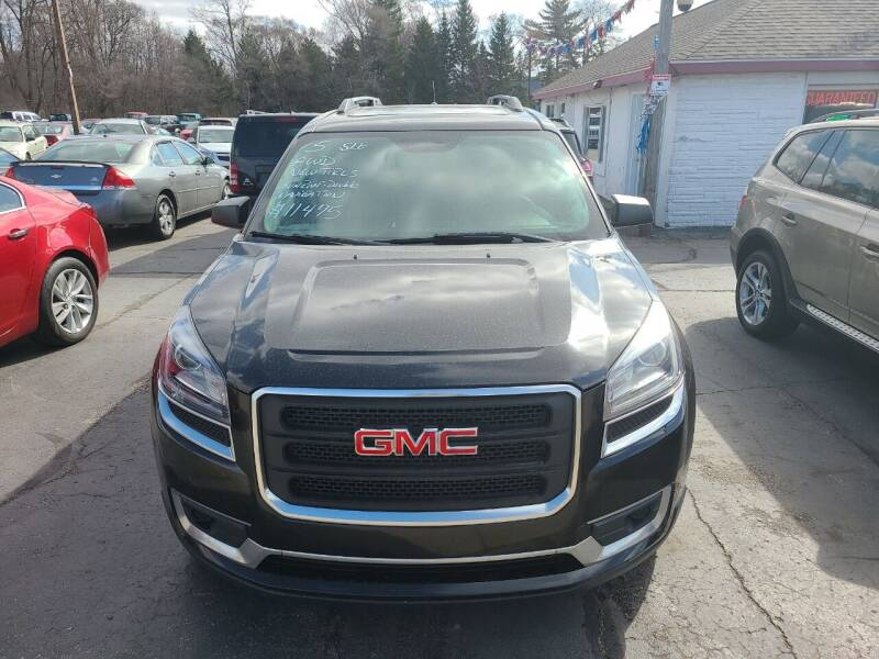 2015 GMC Acadia for sale at All State Auto Sales, INC in Kentwood MI