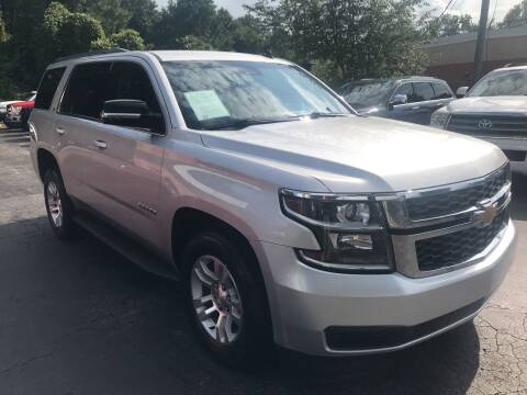 2015 Chevrolet Tahoe for sale at Magic Motors Inc. in Snellville GA