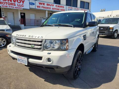 2008 Land Rover Range Rover Sport for sale at Convoy Motors LLC in National City CA