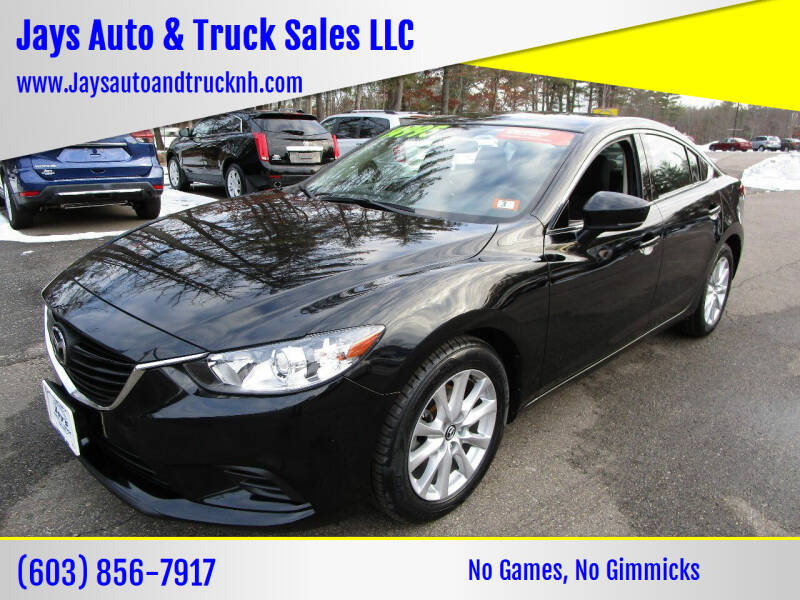 2017 Mazda MAZDA6 for sale at Jays Auto & Truck Sales LLC in Loudon NH
