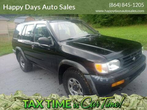 1997 Nissan Pathfinder for sale at Happy Days Auto Sales in Piedmont SC