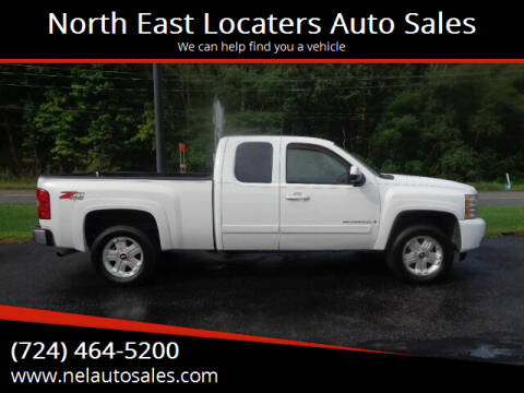 2008 Chevrolet Silverado 1500 for sale at North East Locaters Auto Sales in Indiana PA