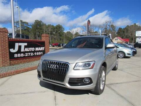 2015 Audi Q5 for sale at J T Auto Group in Sanford NC