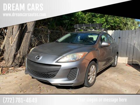 2012 Mazda MAZDA3 for sale at DREAM CARS in Stuart FL
