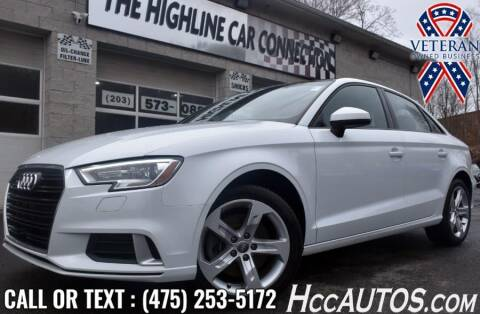 2017 Audi A3 for sale at The Highline Car Connection in Waterbury CT