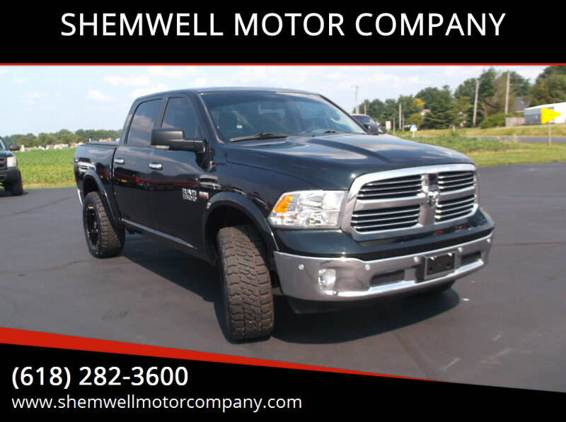 2016 RAM Ram Pickup 1500 for sale at SHEMWELL MOTOR COMPANY in Red Bud IL