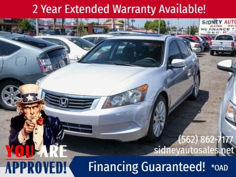 2008 Honda Accord for sale at Sidney Auto Sales in Downey CA