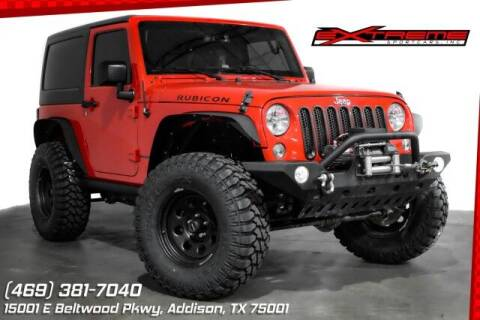 2015 Jeep Wrangler for sale at EXTREME SPORTCARS INC in Carrollton TX