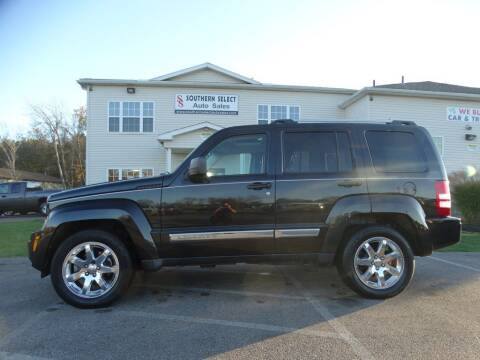 2012 Jeep Liberty for sale at SOUTHERN SELECT AUTO SALES in Medina OH