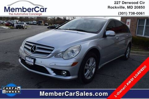 2008 Mercedes-Benz R-Class for sale at MemberCar in Rockville MD