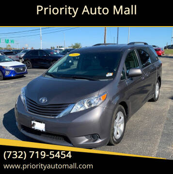 2015 Toyota Sienna for sale at Priority Auto Mall in Lakewood NJ