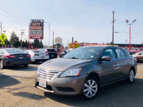 2015 Nissan Sentra for sale at City Motors in Hayward CA