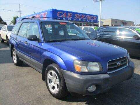 2003 Subaru Forester for sale at Car One - CAR SOURCE OKC in Oklahoma City OK