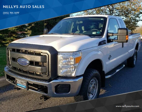 2014 Ford F-250 Super Duty for sale at NELLYS AUTO SALES in Souderton PA