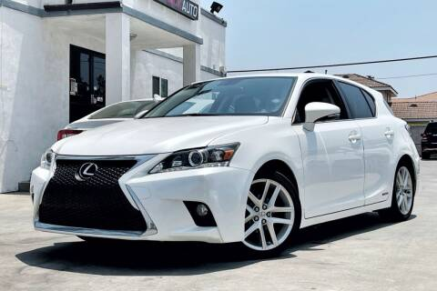 2016 Lexus CT 200h for sale at Fastrack Auto Inc in Rosemead CA